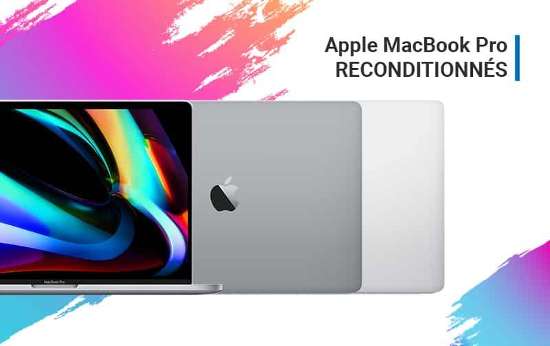 Offre du Moment MacBook Pro Reconditionnés | McPrice Paris Trocadéro