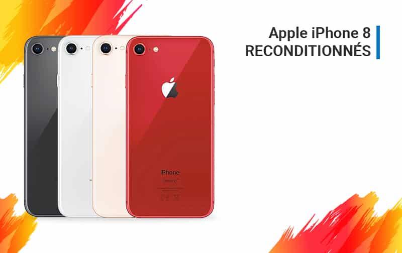 Offre du Moment iPhone 8 Reconditionnés | McPrice Paris Trocadéro