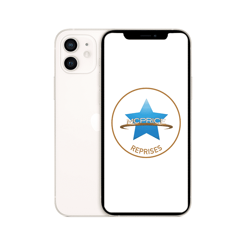 Reprise - Apple iPhone 12 Mini 128 Go (Déverrouillé) - Blanc | McPrice Paris Trocadero