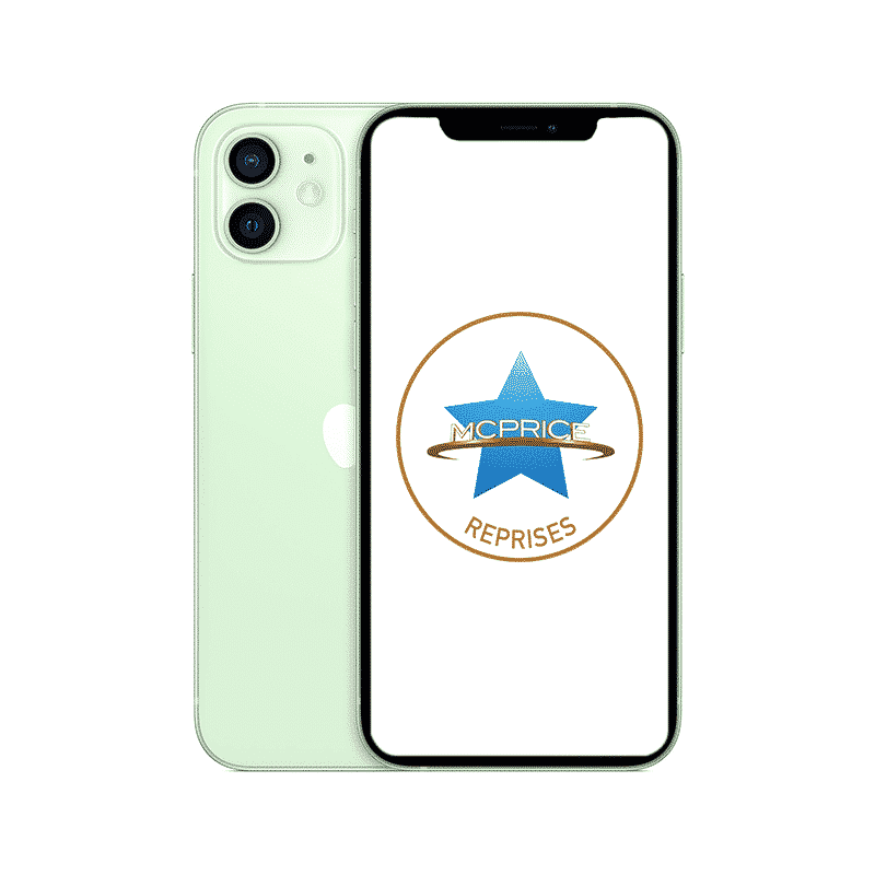 Reprise - Apple iPhone 12 Mini 128 Go (Déverrouillé) - Vert | McPrice Paris Trocadero