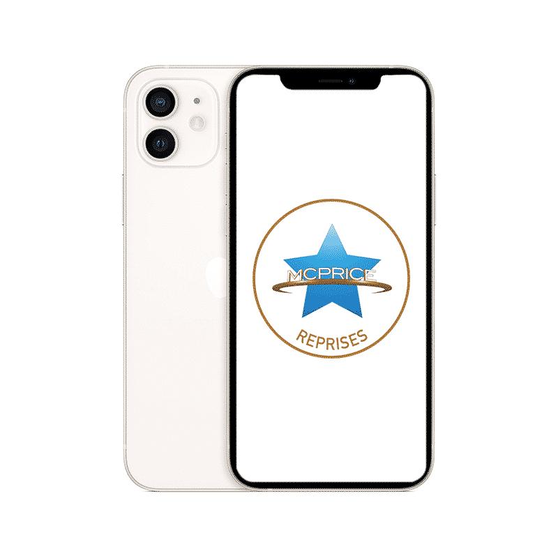 Reprise - Apple iPhone 12 Mini 64 Go (Déverrouillé) - Blanc | McPrice Paris Trocadero