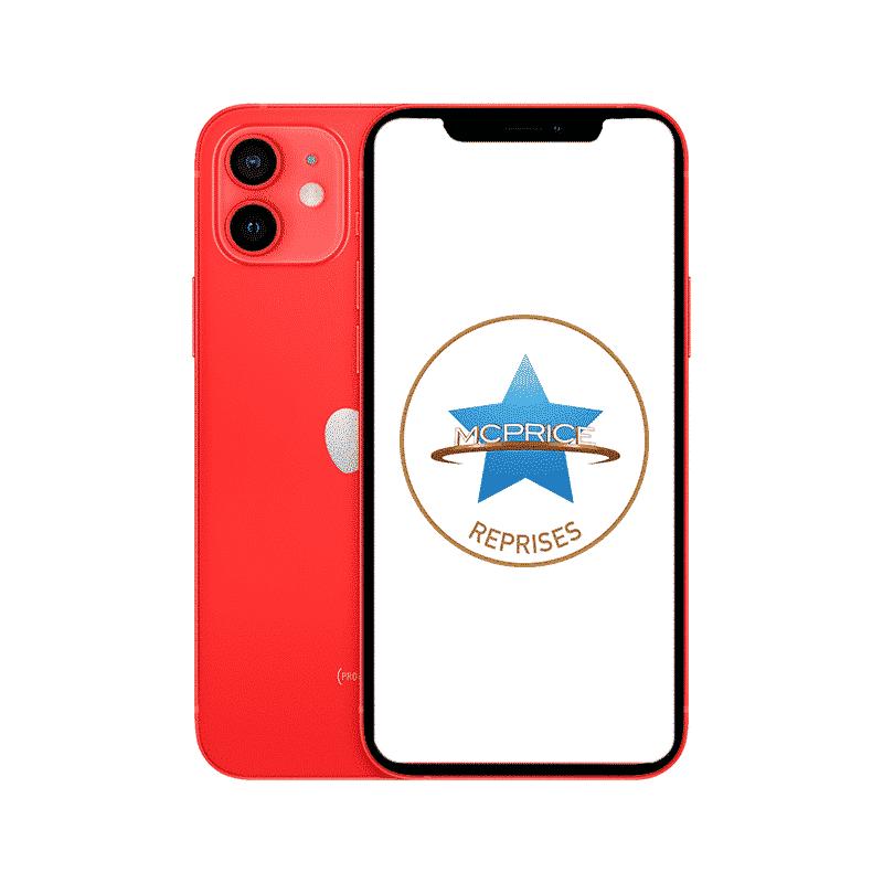 Reprise - Apple iPhone 12 Mini 64 Go (Déverrouillé) - (PRODUCT)RED | McPrice Paris Trocadero