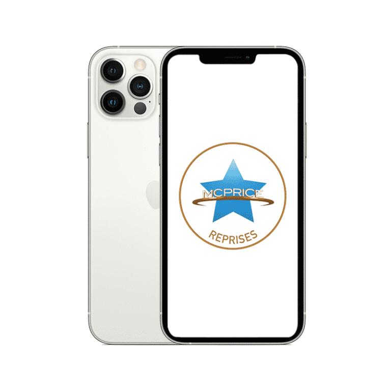 Reprise - Apple iPhone 12 Pro Max 256 Go (Déverrouillé) - Argent | McPrice Paris Trocadero