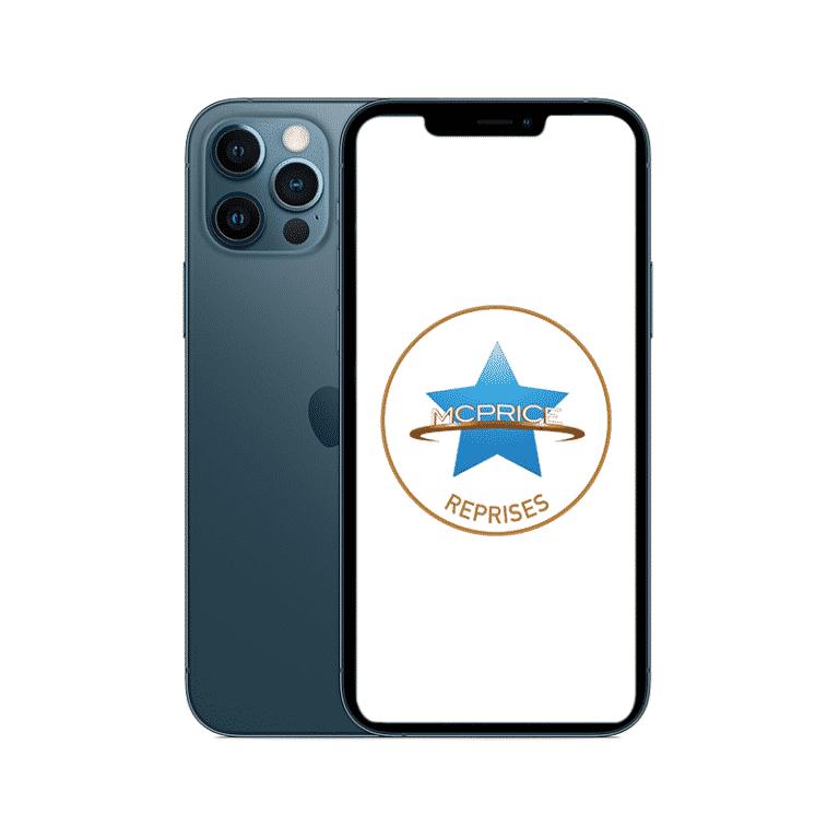 Reprise - Apple iPhone 12 Pro Max 256 Go (Déverrouillé) - Bleu Pacifique | McPrice Paris Trocadero