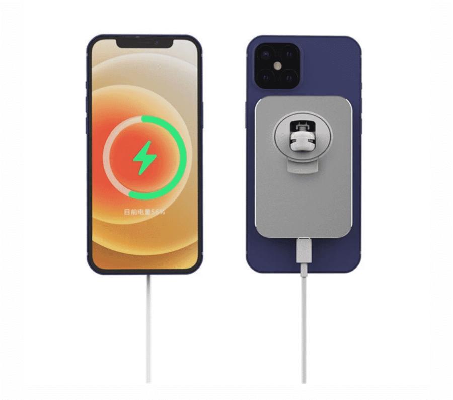 Accessoires Apple | Support Mc Accessory sur grille d'aération de voiture avec MagSafe | McPrice Paris Trocadéro 2