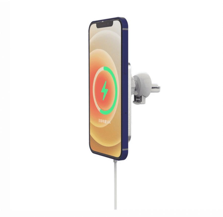 Accessoires Apple | Support Mc Accessory sur grille d'aération de voiture avec MagSafe | McPrice Paris Trocadéro 3