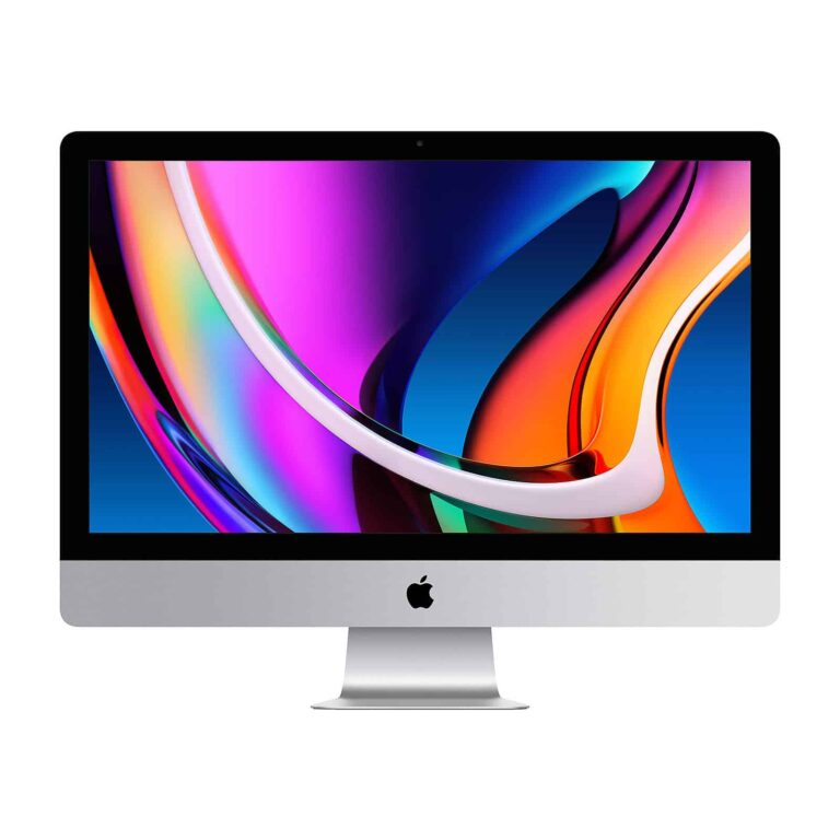 Apple iMac 27 Pouces Retina 5K 3.8 GHz /Intel Core i7/8Go/512 Go SSD/ AMD Radeon Pro 5500 XT - Neuf Garantie 1 an en Stock   McPrice Paris Trocadéro