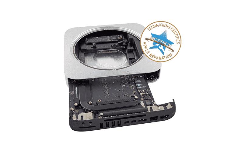1.Changement du SSD ou HDD Mac Mini | McPrice Paris Trocadéro
