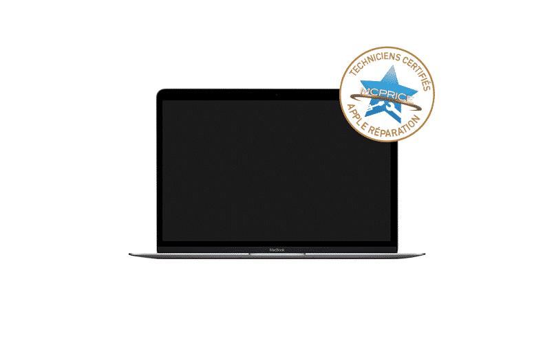 1.Remplacement d'écran cassé MacBook | McPrice Paris Trocadéro