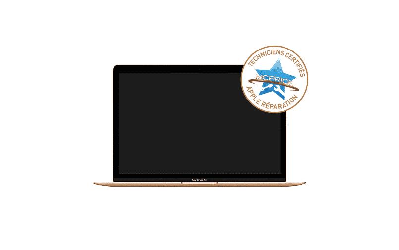 1.Remplacement d'écran cassé MacBook Air | McPrice Paris Trocadéro