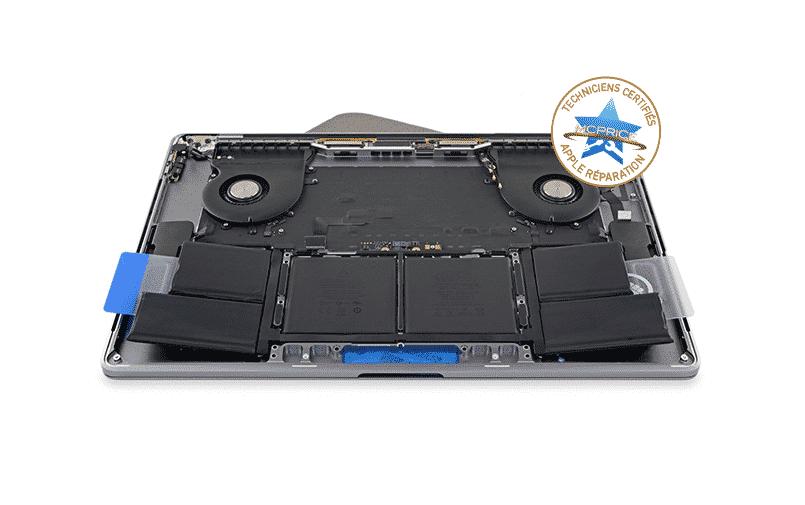 2.Changement de Batterie MacBook Pro | McPrice Paris Trocadéro