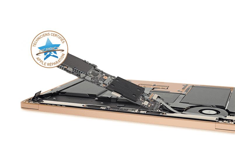6.Remplacement Carte Mère MacBook Air | McPrice Paris Trocadéro