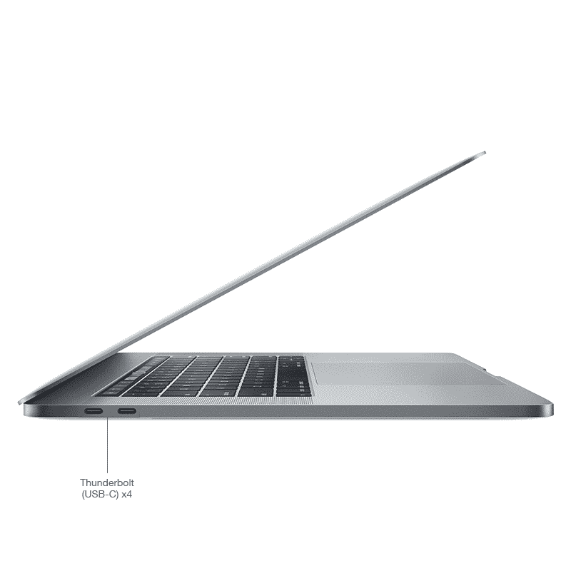 Apple MacBook Pro 15,4 Pouces Retina:Touch Bar:6-Cœur i9 2,9GHz:32Go:1To:Radeon Pro 560X:Gris Sidéral - Reconditionné Garantie 1 an en Stock | McPrice Paris Trocadéro
