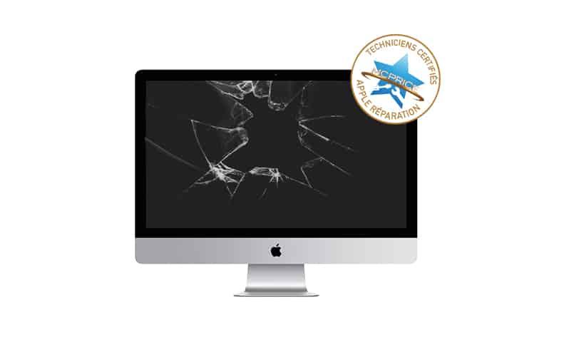 1.Remplacement d'écran cassé iMac & iMac Pro | McPrice Paris Trocadéro