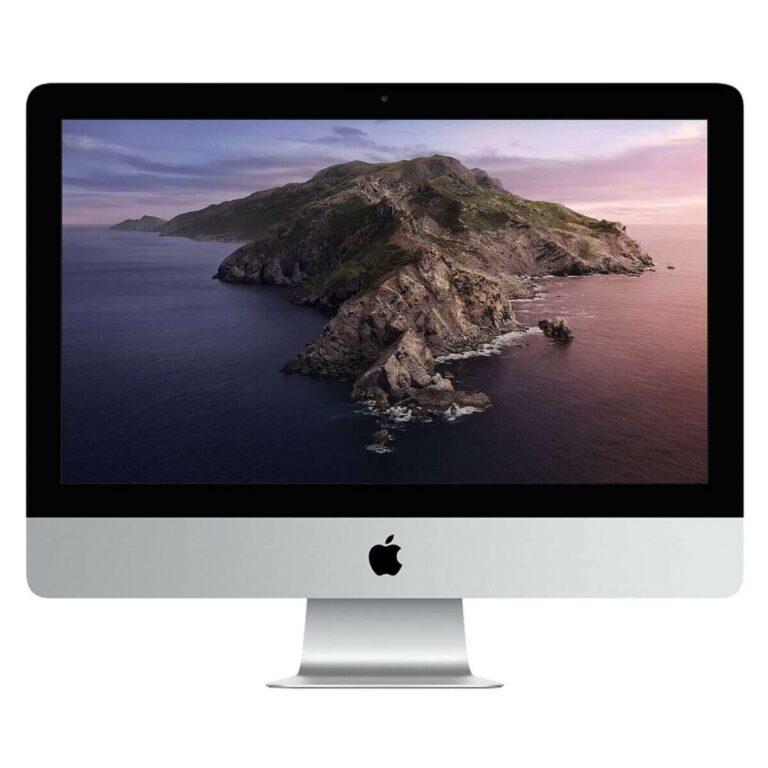Apple iMac 21 Pouces Écran Retina 4K 3,6 GHz /Intel Core i3/8Go/256Go SSD/AMD Radeon Pro 555X   Neuf en Stock   McPrice Paris Trocadéro