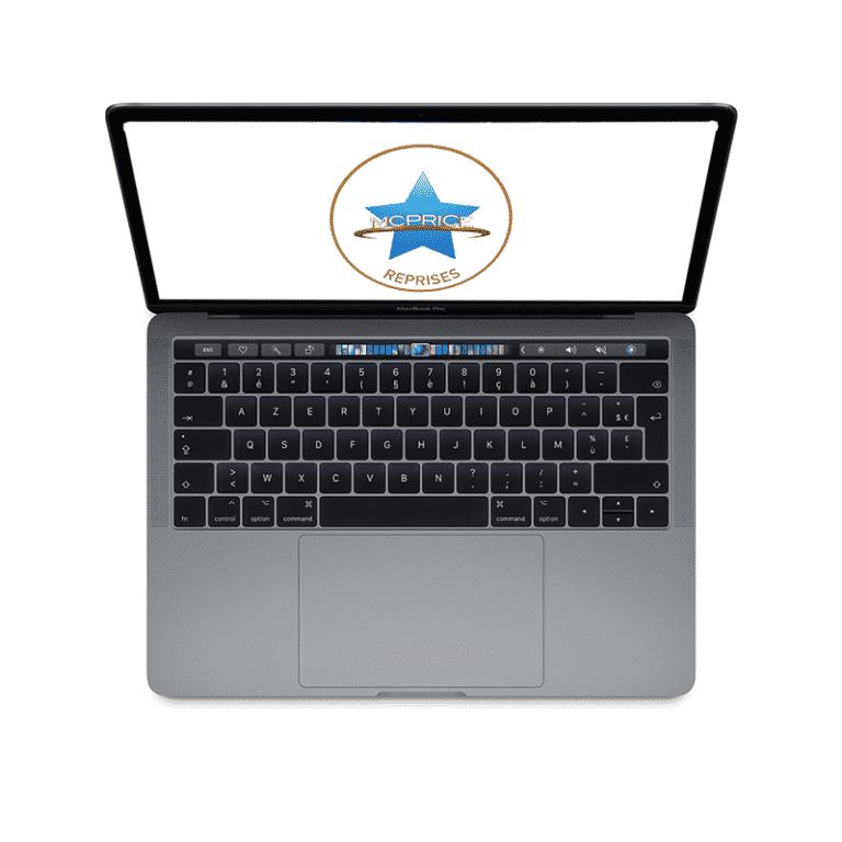 Reprise Apple MacBook Pro 13 Pouces Retina Touch Bar 1,4GHz/i5/8Go/512 Go SSD - Gris Sidéral | McPrice Paris Trocadero