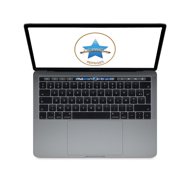 Apple MacBook Pro 13 Pouces Touch Bar Puce M1 8Go/256 Go SSD - Gris Sidéral | McPrice Paris Trocadero