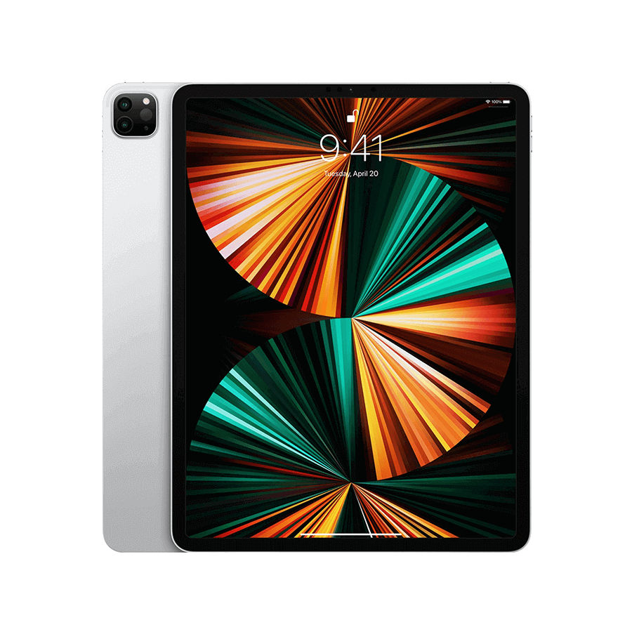 Apple iPad Pro (2021) 12,9 pouces 128 Go Wi-Fi + Cellular - Argent | McPrice Paris Trocadéro