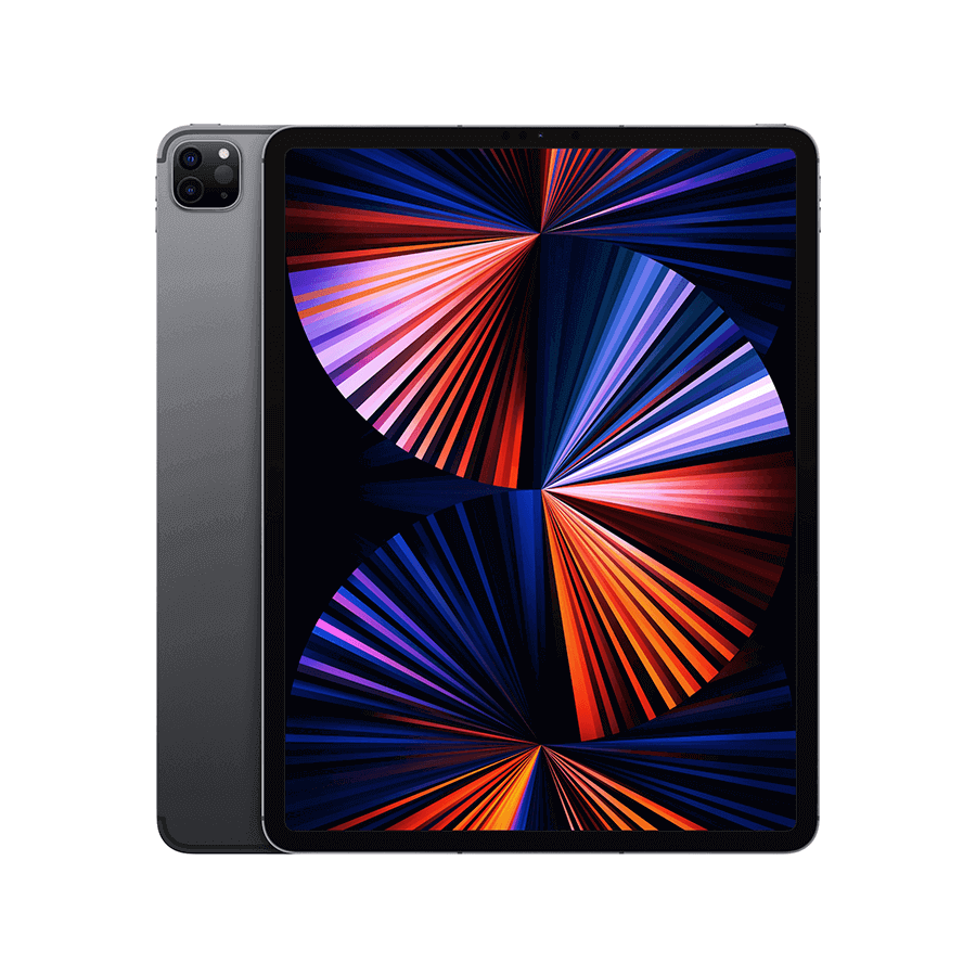 Apple iPad Pro (2021) 12,9 pouces 128 Go Wi-Fi - Gris Sidéral   McPrice Paris Trocadéro