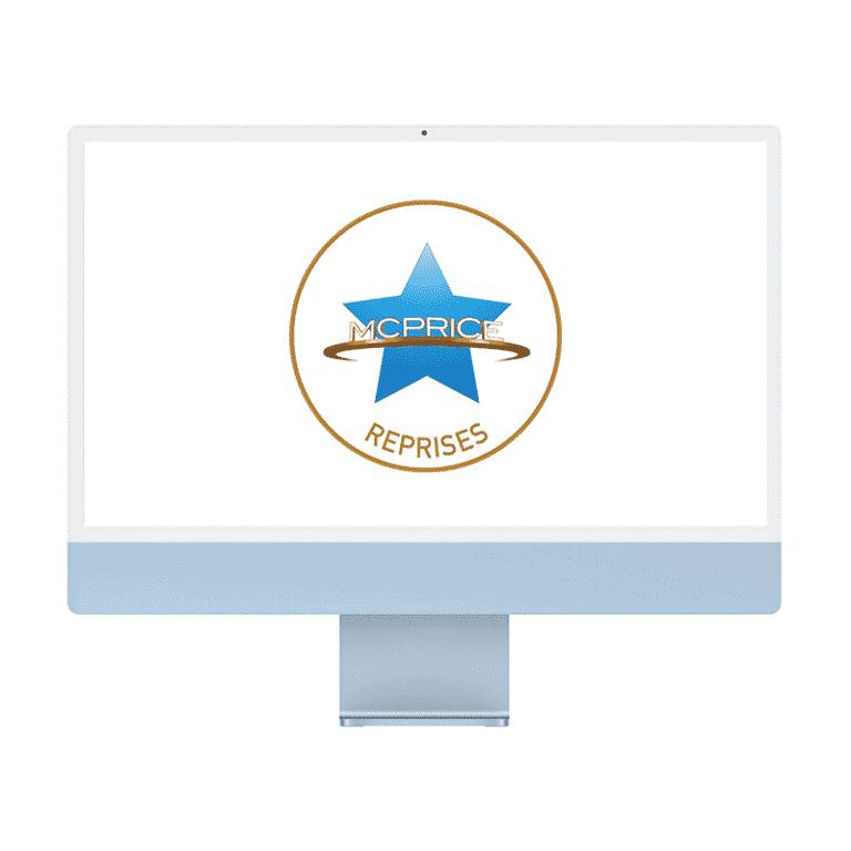 Reprise Apple iMac 24 Pouces Retina 4,5K Puce Apple M1/8Go/256Go SSD/CPU 8 Cœurs/GPU 8 Cœurs – Bleu   McPrice Paris Trocadero