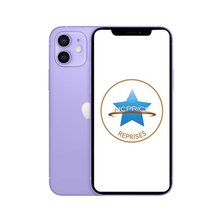 Reprise | Apple iPhone 12 256 Go (Déverrouillé) - Mauve | McPrice Paris Trocadéro