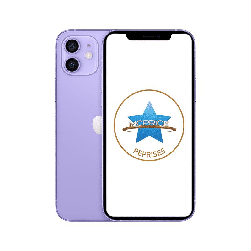 Reprise   Apple iPhone 12 256 Go (Déverrouillé) - Mauve   McPrice Paris Trocadéro