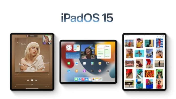 Quels Apple iPad sont compatibles avec iPadOS 15 ?