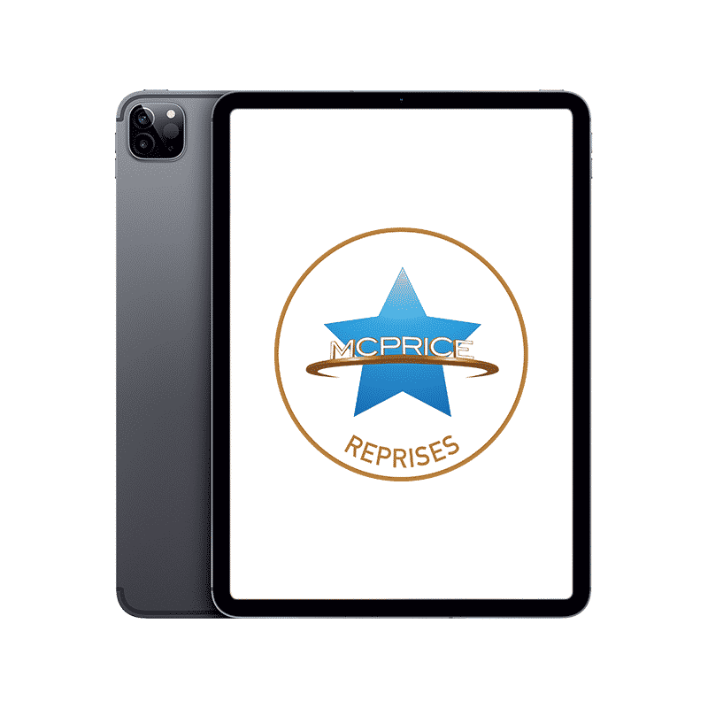 Reprise Apple iPad Pro 11 Pouces (2021) Wifi + Cellular 128 Go - Gris Sidéral   McPrice Paris Trocadero