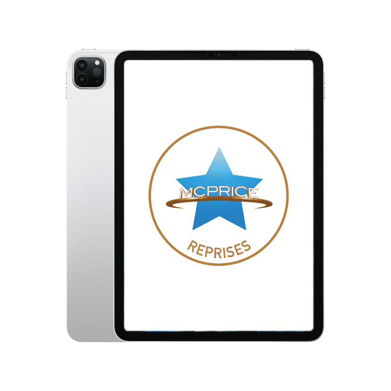 Reprise Apple iPad Pro 12,9 Pouces (2021) Wifi + Cellular 128 Go - Argent | McPrice Paris Trocadero
