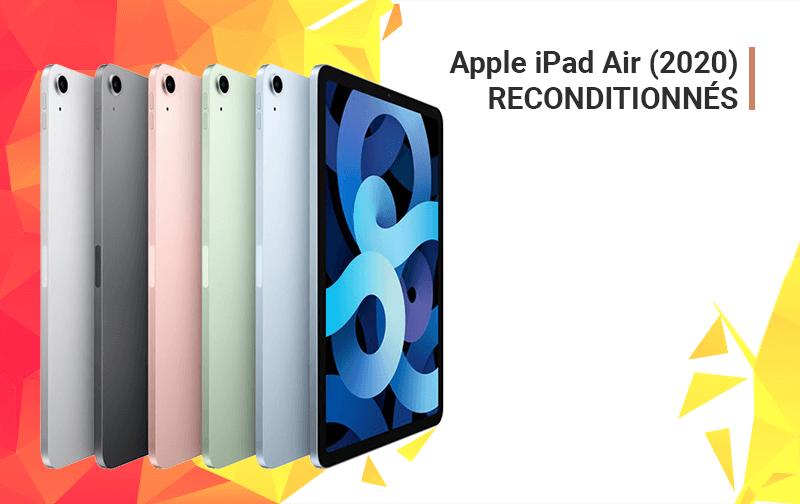 Offre du Moment iPad Air 2020 Reconditionnés - McPrice Paris Trocadéro