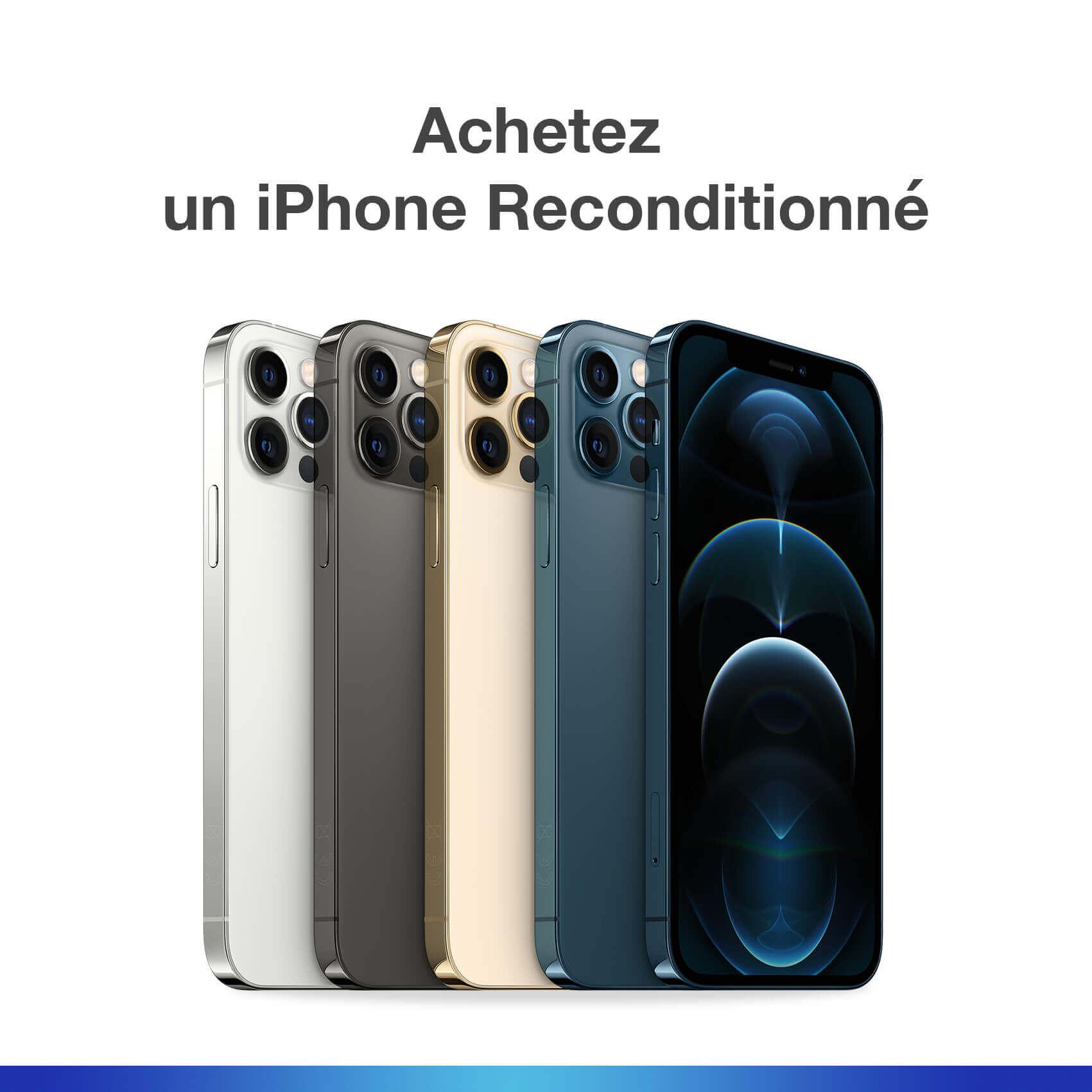 Achetez un iPhone Reconditionné| McPrice Paris Trocadéro