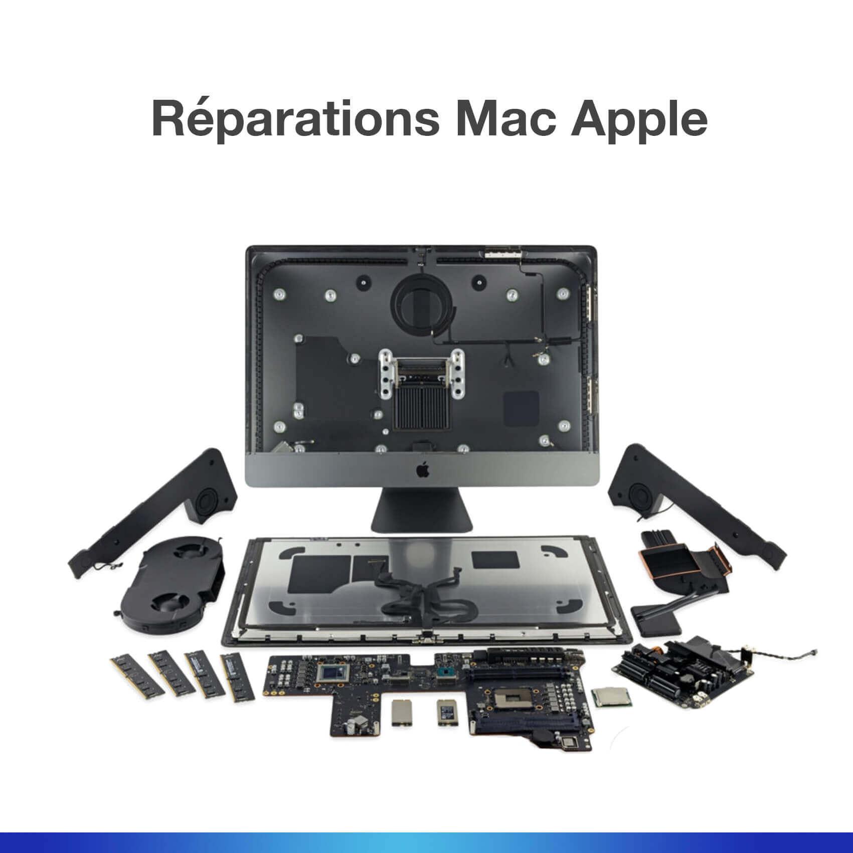 Réparations Mac Apple