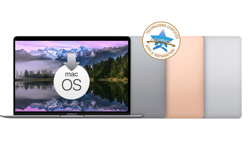 7.Problème MacOS MacBook Air | McPrice Paris Trocadéro