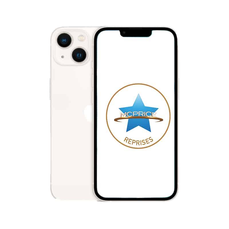 Reprise Apple iPhone 13 128 Go (Déverrouillé) - Lumière Stellaire | McPrice Paris Trocadero