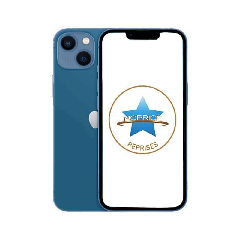 Reprise Apple iPhone 13 Mini 128 Go (Déverrouillé) - Bleu | McPrice Paris Trocadero