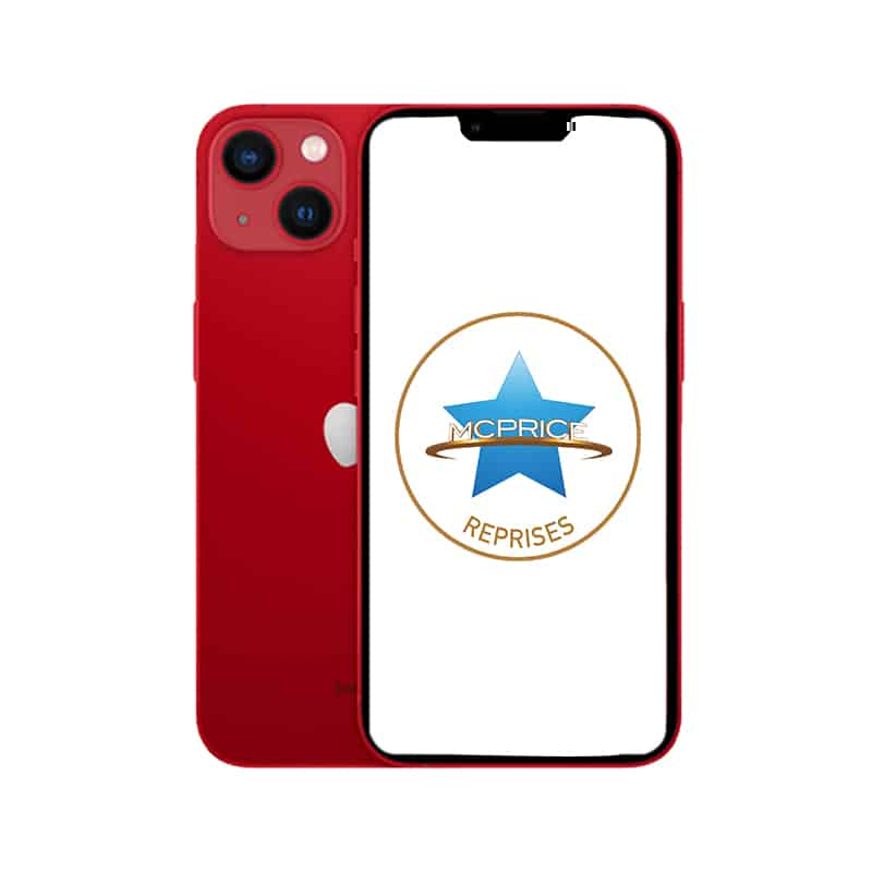 Reprise Apple iPhone 13 Mini 256 Go (Déverrouillé) - PRODUCT(RED) | McPrice Paris Trocadero