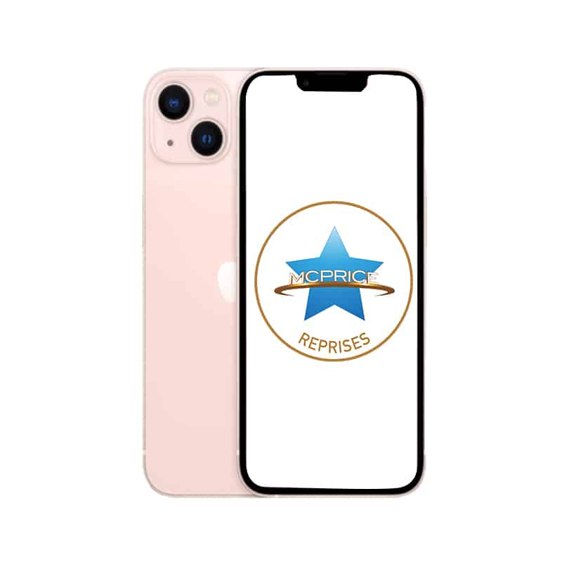 Reprise Apple iPhone 13 Mini 256 Go (Déverrouillé) - Rose  McPrice Paris Trocadero