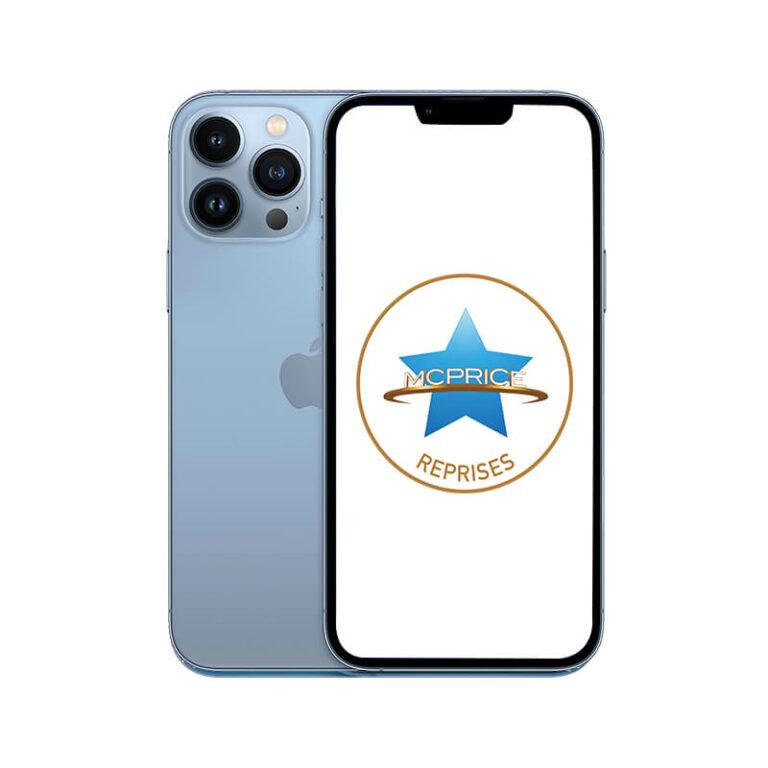 Reprise Apple iPhone 13 Pro Max 128 Go (Déverrouillé) - Bleu Alpin |McPrice Paris Trocadero