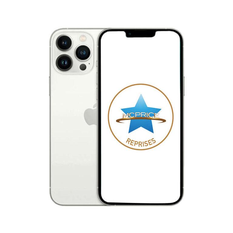 Reprise Apple iPhone 13 Pro Max 256 Go (Déverrouillé) - Argent | McPrice Paris Trocadero