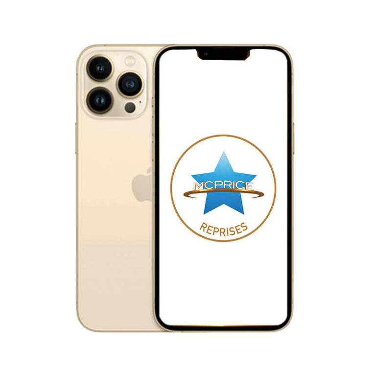 Reprise Apple iPhone 13 Pro Max 256 Go (Déverrouillé) - Or | McPrice Paris Trocadero