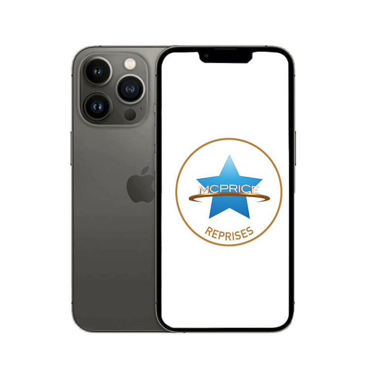 Reprise Apple iPhone 13 Pro Max 512 Go (Déverrouillé) - Graphite | McPrice Paris Trocadero
